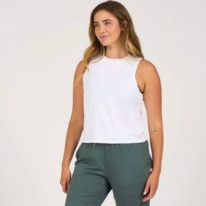 NWOT Vuori Women's Energy Top White Size Large